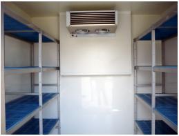Chambre froide intérieur modulaire