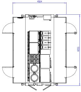 Plan module cuisson 1500