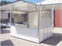 location cuisine éphémère, fabricant kiosque restauration rapide